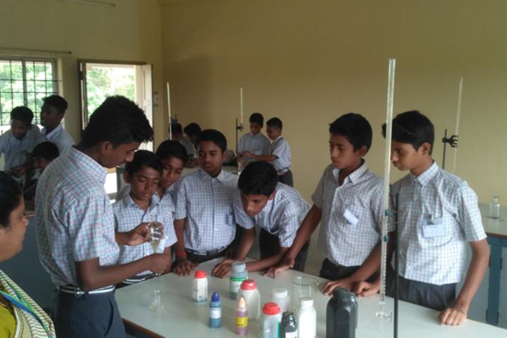 Sairam School-Chemistry Lab