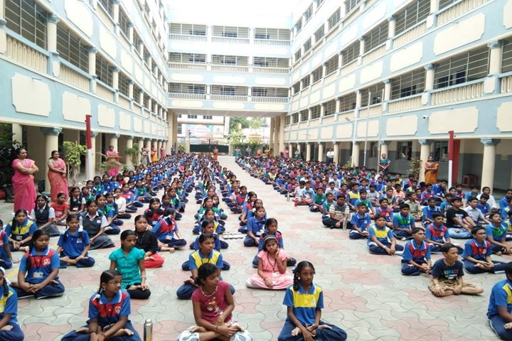 Sairam School-International Yoga Day