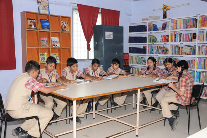 Stansford International Higher Secondary School-Library