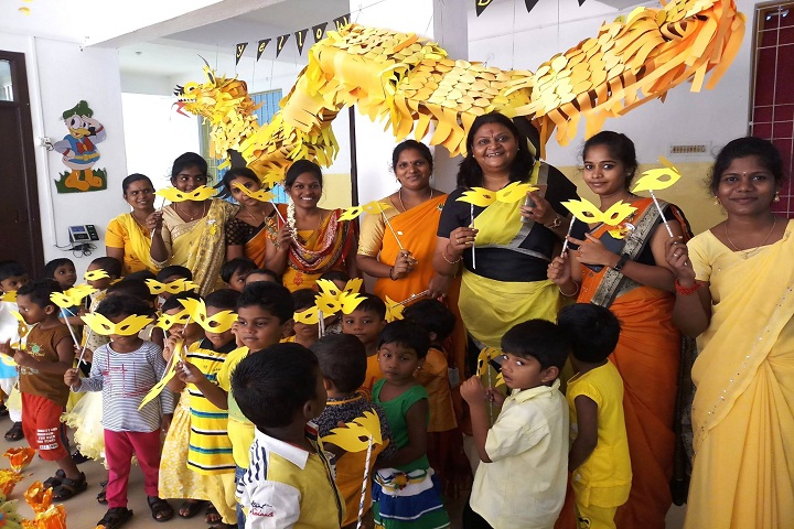 Stansford International Higher Secondary School-Yellow Day Celebrations