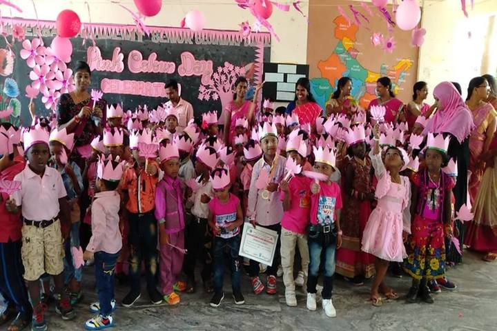 Universal Academy High School-Pink Day