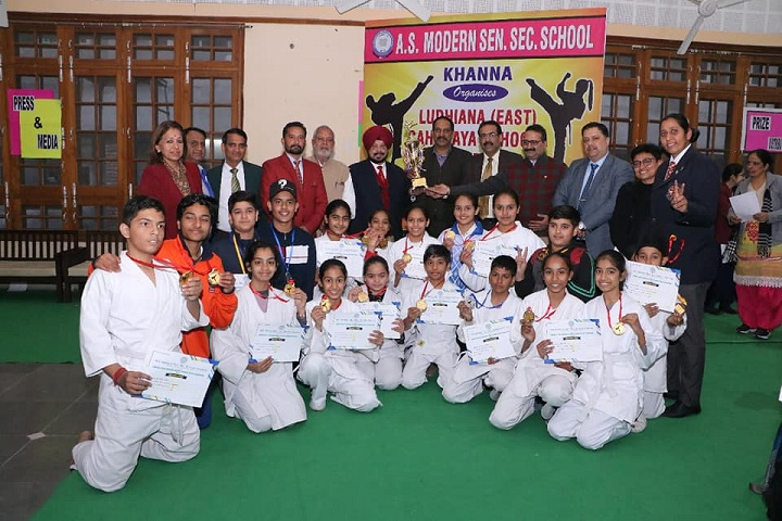 A S Modern School-Karate