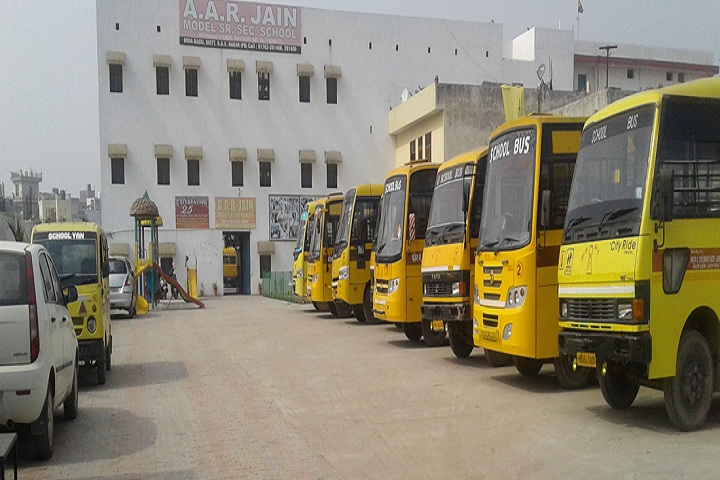 A A R Jain Model Senior Secondary School-Bus Transport