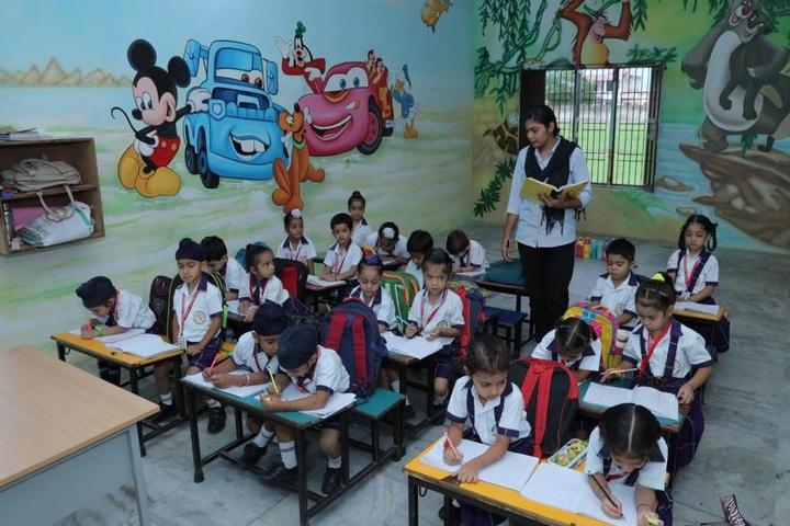 Aadesh International School-Class Room