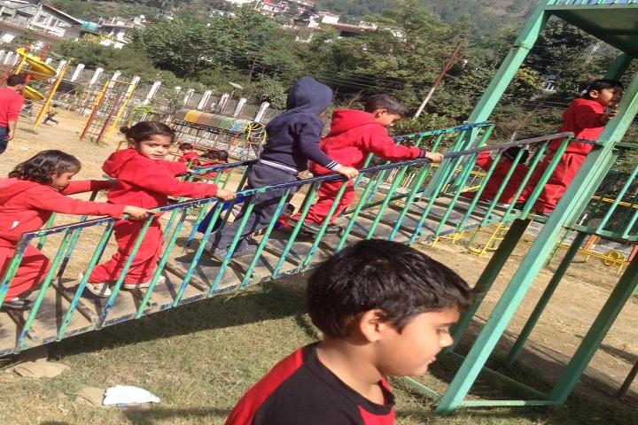 Aadhar Public School-KG Play area