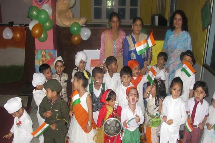 Aadhar Public School-Independence day