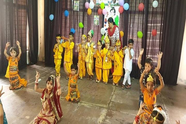 Aakarshan Public School-Janamashtami