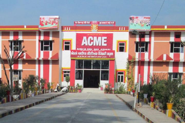 ACME Public Senior Secondary School-Campus