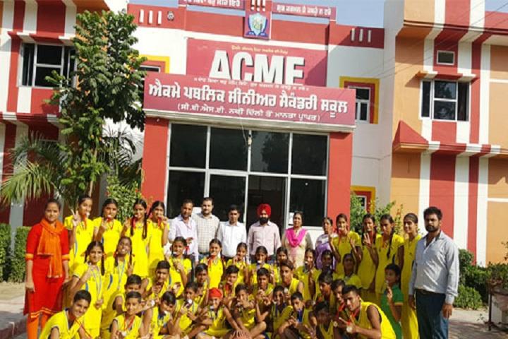 ACME Public Senior Secondary School-Sports