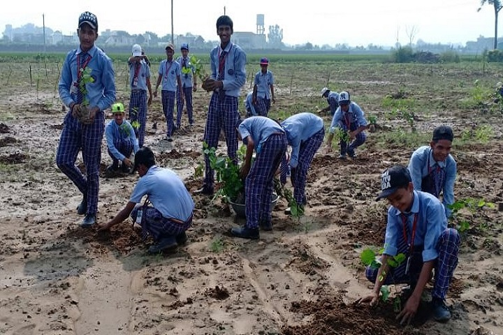 Adarsh Public School-Plantation