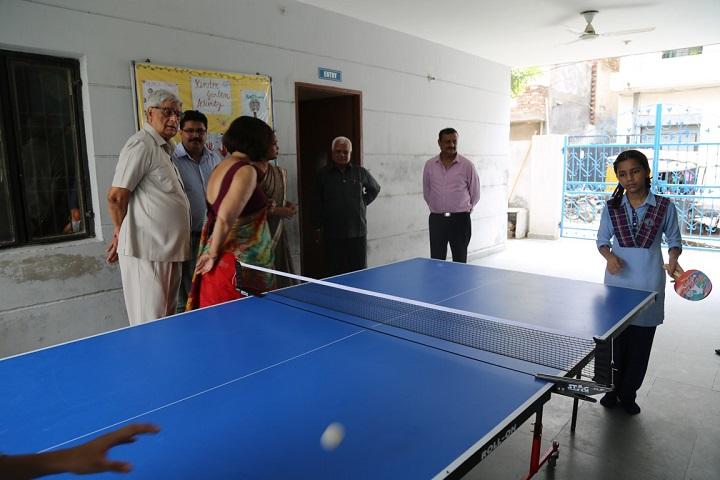 Adarsh Public School-Tennis