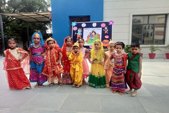 Adarsh Public Schoool-Festival Celebration