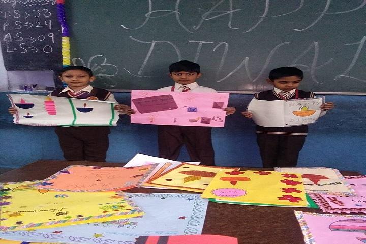 Aggarsain International Public School-Diwali Activity