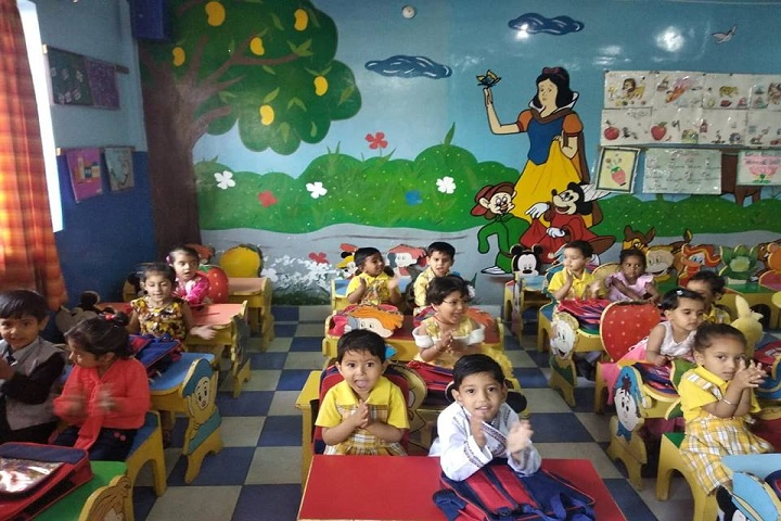 Ajanta Public School-Kids Classroom