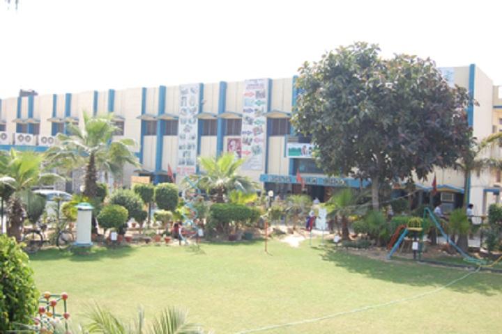 Ajanta Public School-School Lawn