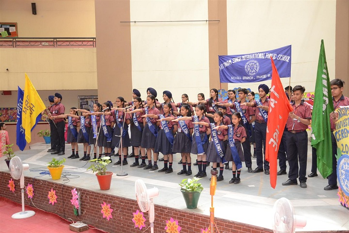 Ajit Karam Singh International Public School-Oath Taking