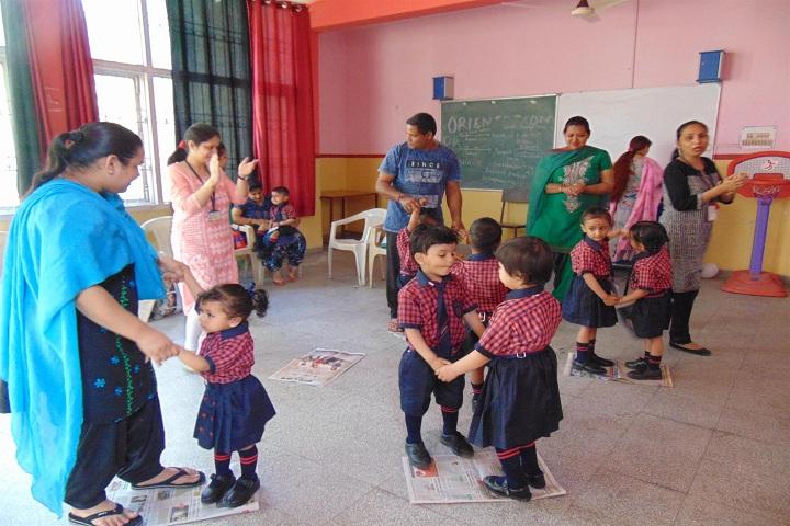 Ajit Karam Singh International Public School-KG Students Activity