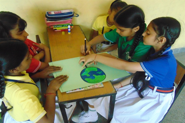Ajit Karam Singh International Public School-Earth Day Celebrations