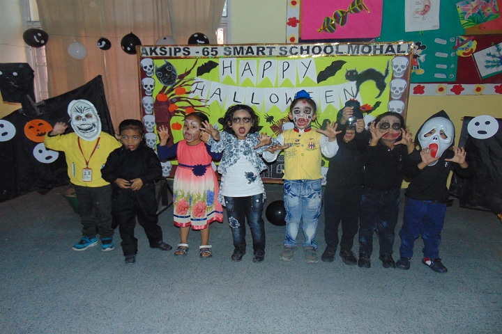 Ajit Karam Singh International Public School-Hallowen Day