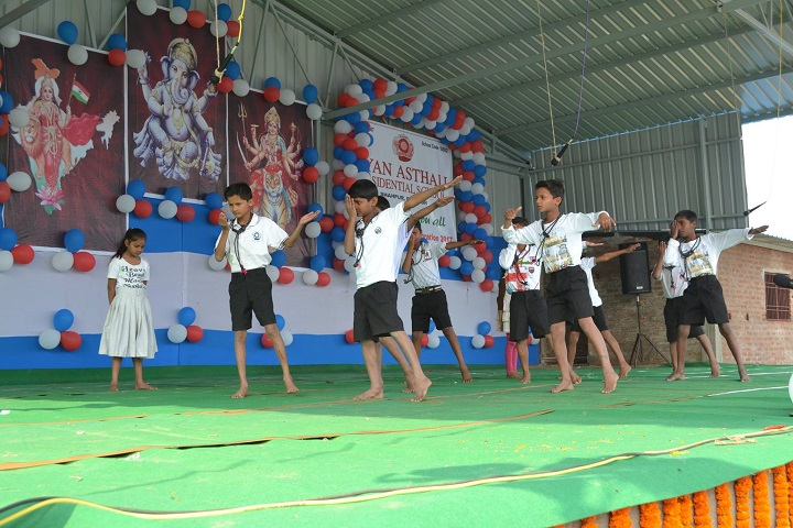 Gyan Asthali Residential School-Dancing Activity