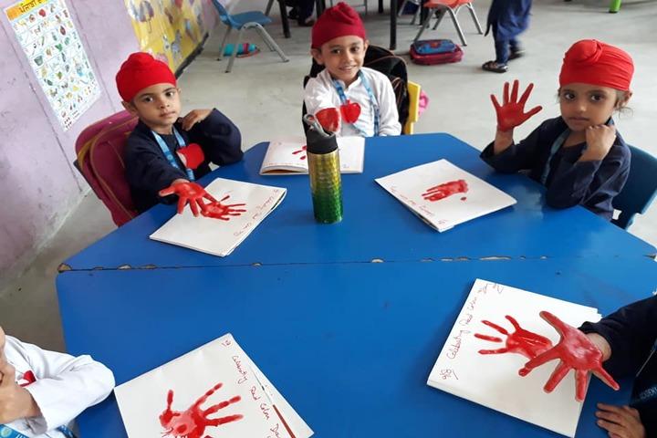 Akal Academy-Hand Prints