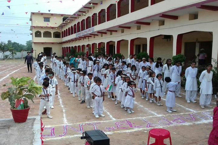 Gyan Bharti Educational Complex-Morning Assembly