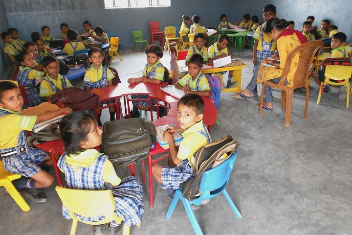 Gyan Bharti Global School-Classroom