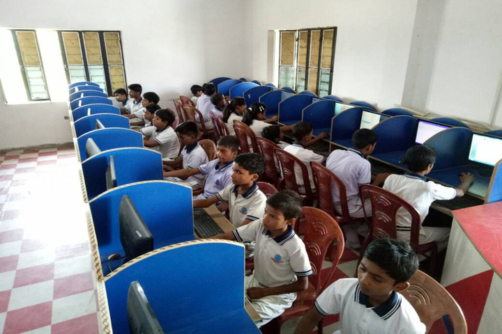 Gyan Bharti Global School-Computer Lab