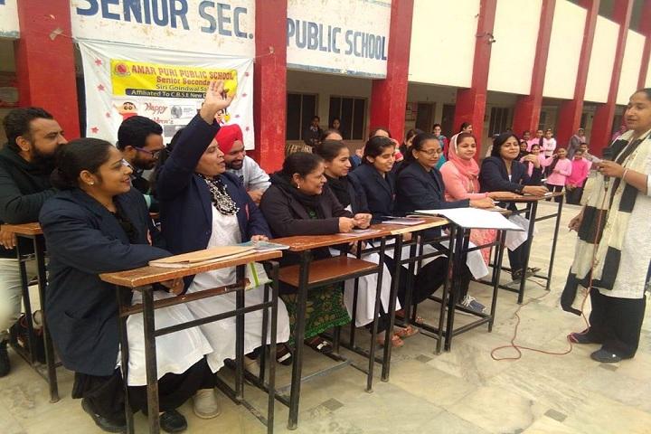 Amarpuri Senior Secondary Public School-Debate