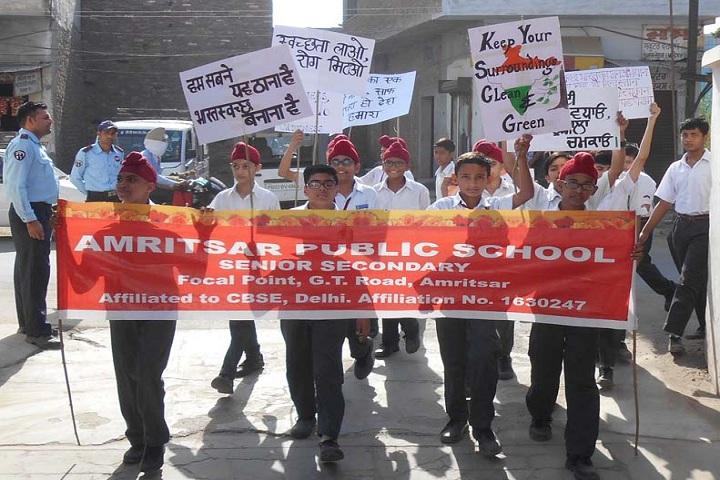 Amritsar Public School-Awareness Program