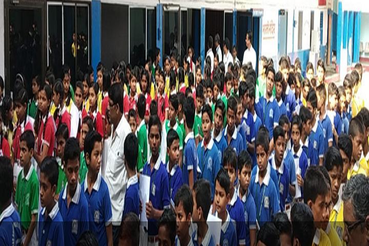 Gyan Bharti Public School-Assembly