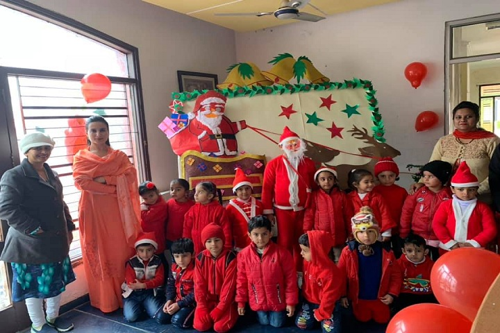 Angels Public School-Christmas Celebrations