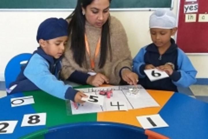 Angels World School-Data Handling