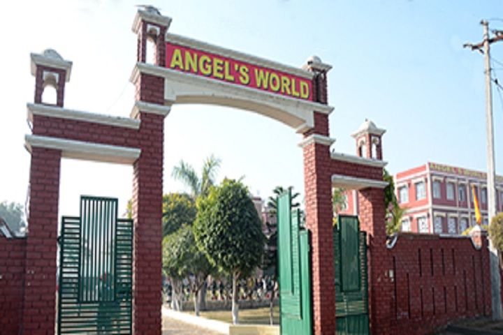 Angels World School-Entrance Gate