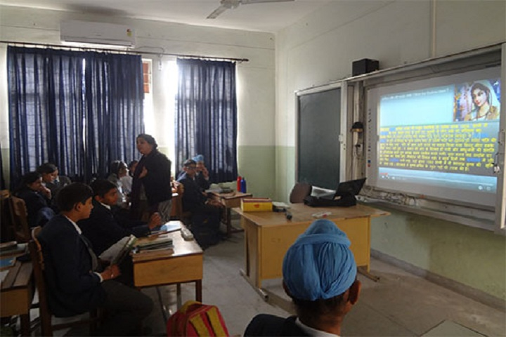 Apeejay School-Class-room