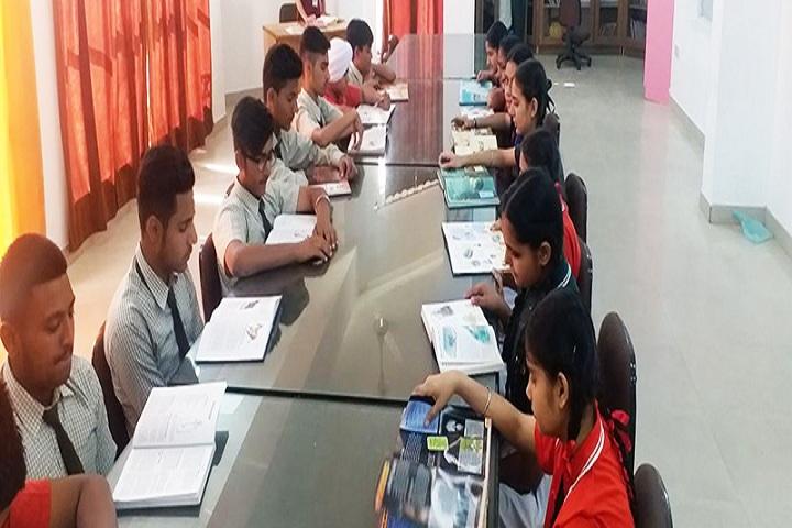 Apex International Public Senior Secondary School-Library