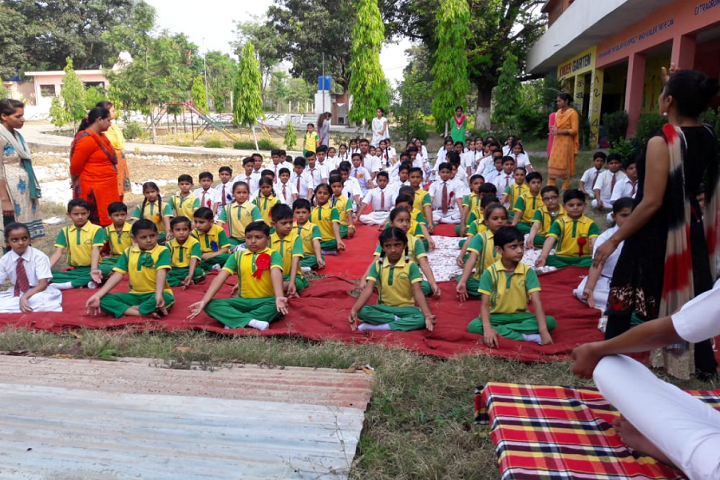 Aprajita International Co Education School-Others yoga