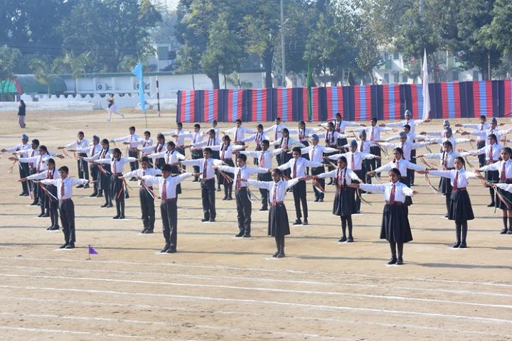 Army Public School-Drill