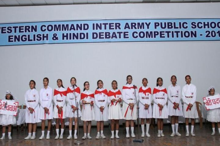 Army Public School-Debate Compitition