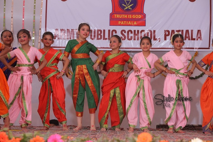 Army Public School-Dance