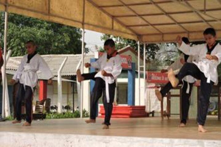 Army Public School-Karate