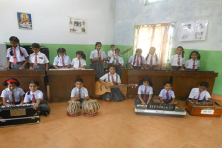 Army Public School Kandrori-Music Room