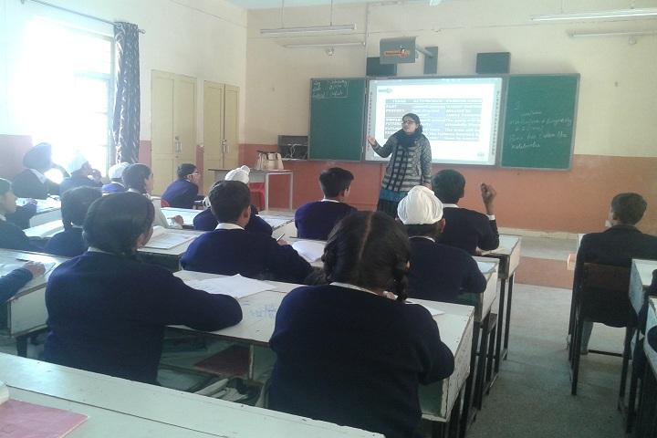Army School-Classroom