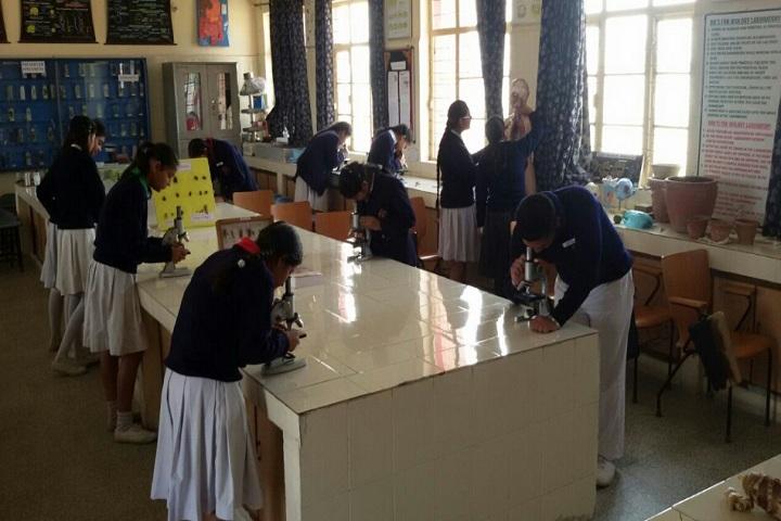 Army School-Laboratory biology