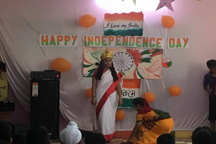 Ashmah International School-Events Independance Day