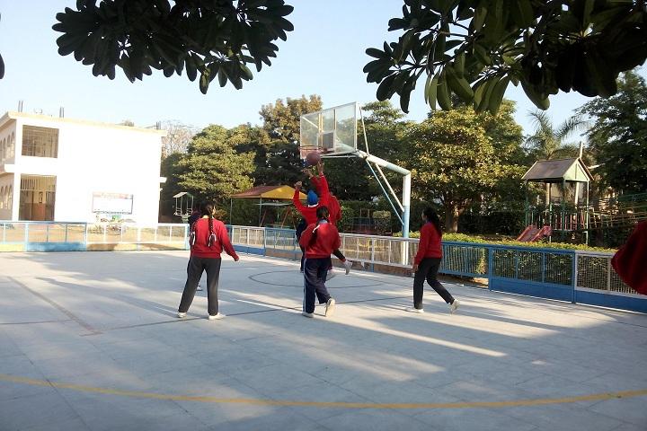 Ashmah International School-Sports volleyball