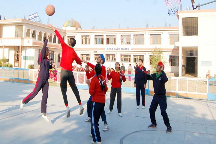 Ashmah International School-Sports Basketball
