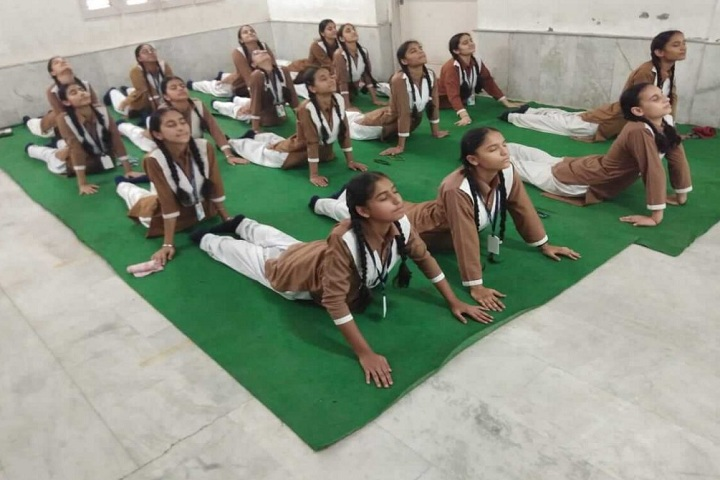 Atam Public Senior Secondary School-Others yoga