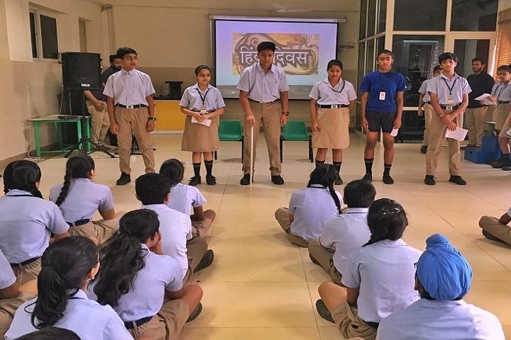 Ats Valley School-Events hindi divas