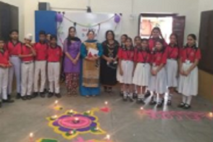 AVM Senior Secondary School-Rangoli Competition